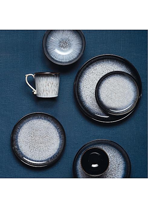 Grey Set of 4 Denby Halo Dinner Plate Set