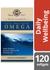 Wild Alaskan Sockeye Salmon Oil Vitamin D3 Softgels x 120 - Solgar