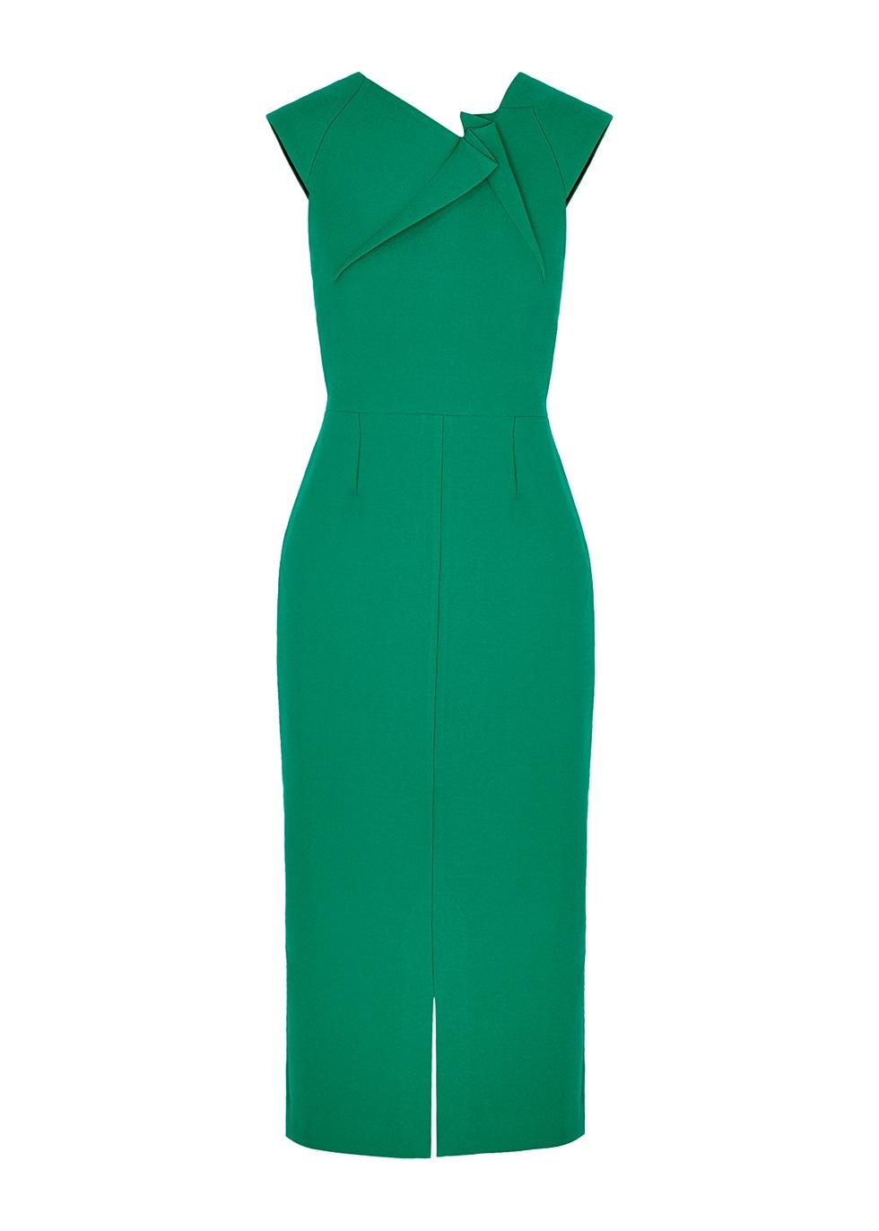 Tikal green midi dress