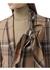 Camel checked wool blazer - Burberry