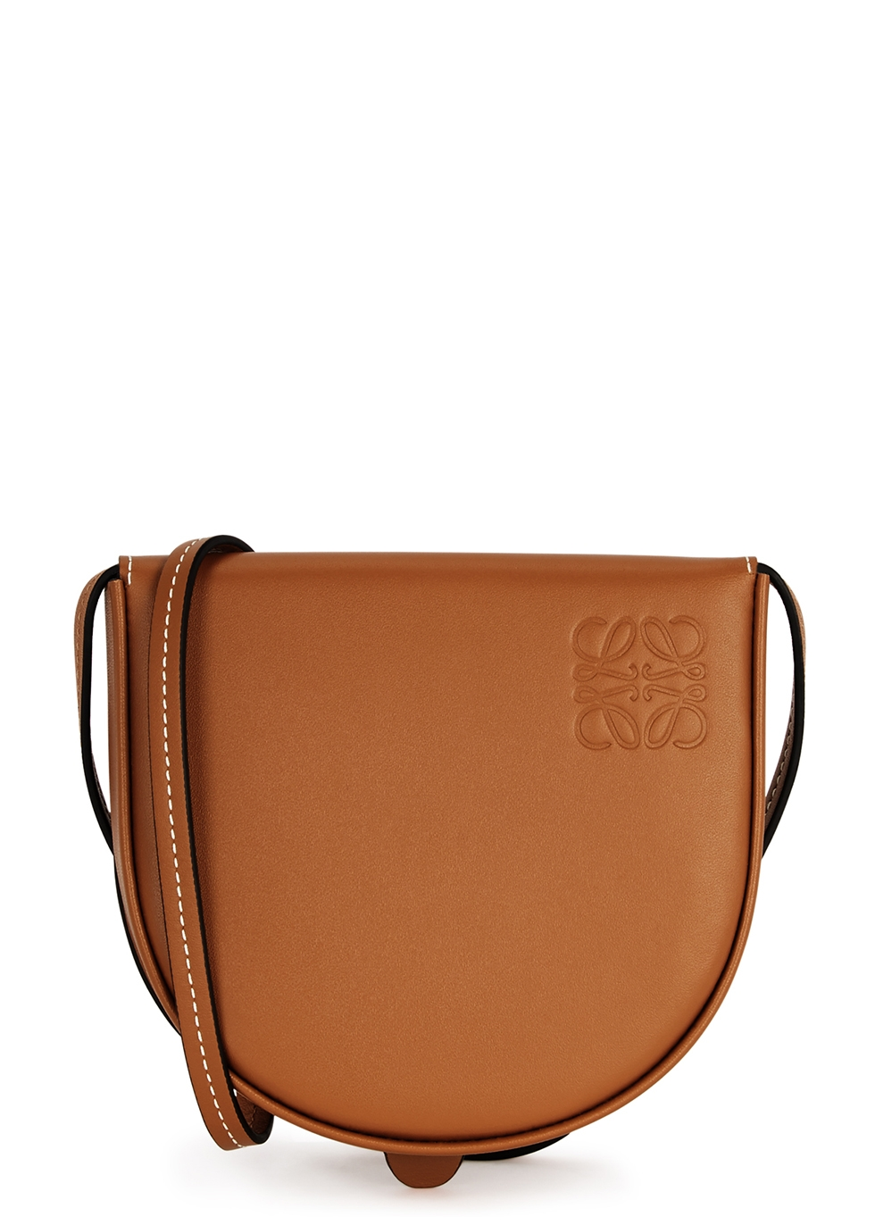 Heel small leather pouch