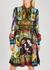 Printed silk-twill dress - Dolce & Gabbana