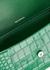 Hourglass green leather shoulder bag - Balenciaga