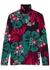 Hasko floral-print stretch-jersey top - Dries Van Noten