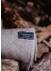 Recycled wool natural herringbone blanket - The Tartan Blanket Co.