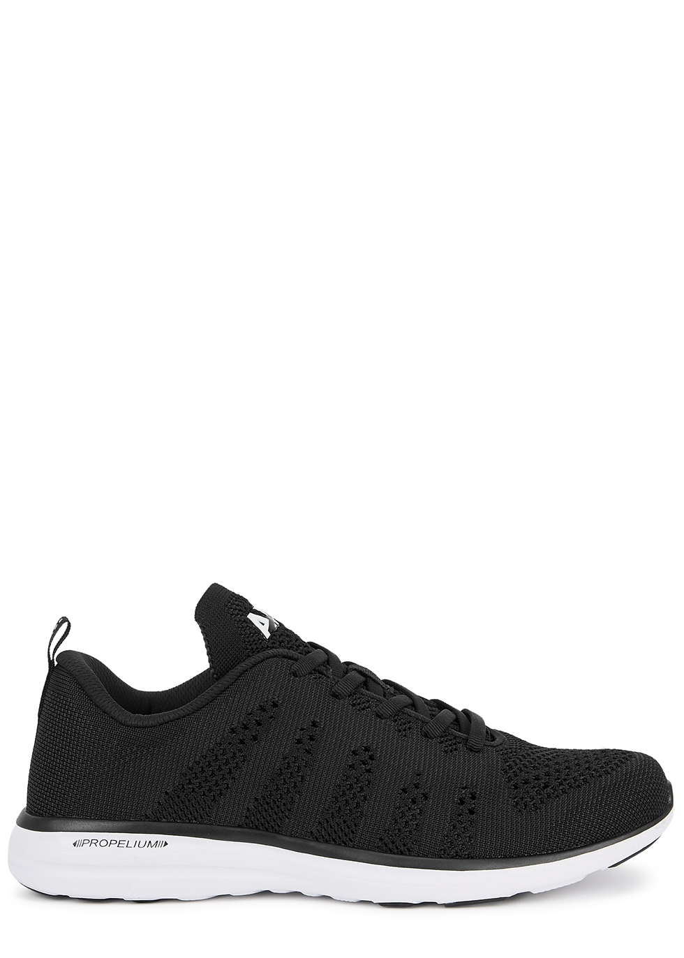 Techloom Pro black knitted sneakers