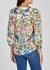 Shiela floral devoré blouse - Alice + Olivia