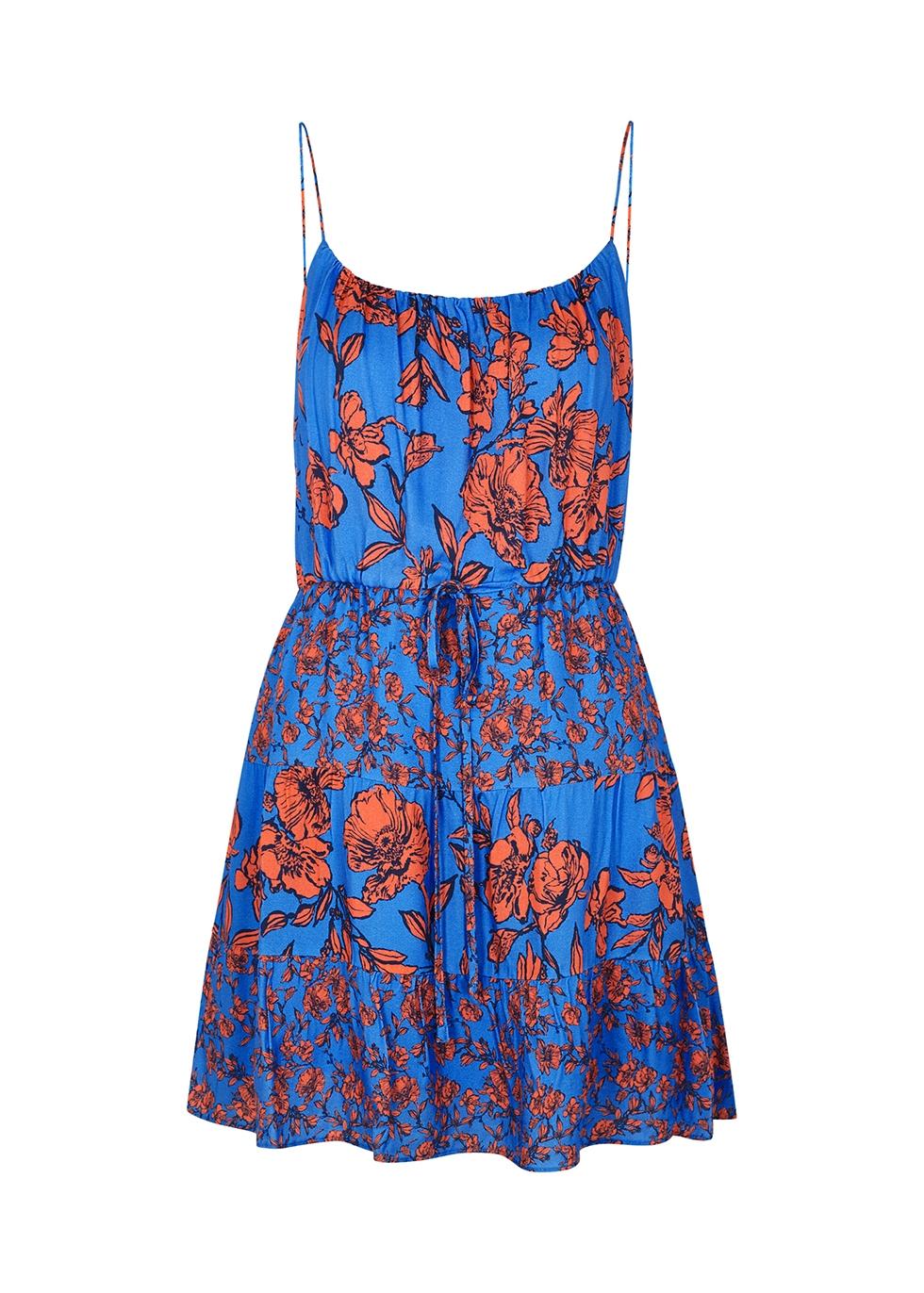 Cheyla floral-print mini dress