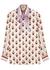Printed silk-twill shirt - Valentino