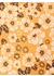 Artsy floral tie yellow - DUCHAMP LONDON