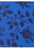 Balloon floral tie blue - DUCHAMP LONDON