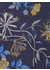 Primrose bouquet tie navy - DUCHAMP LONDON