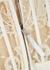 Ivory sarabande lace bra top - Alexander McQueen