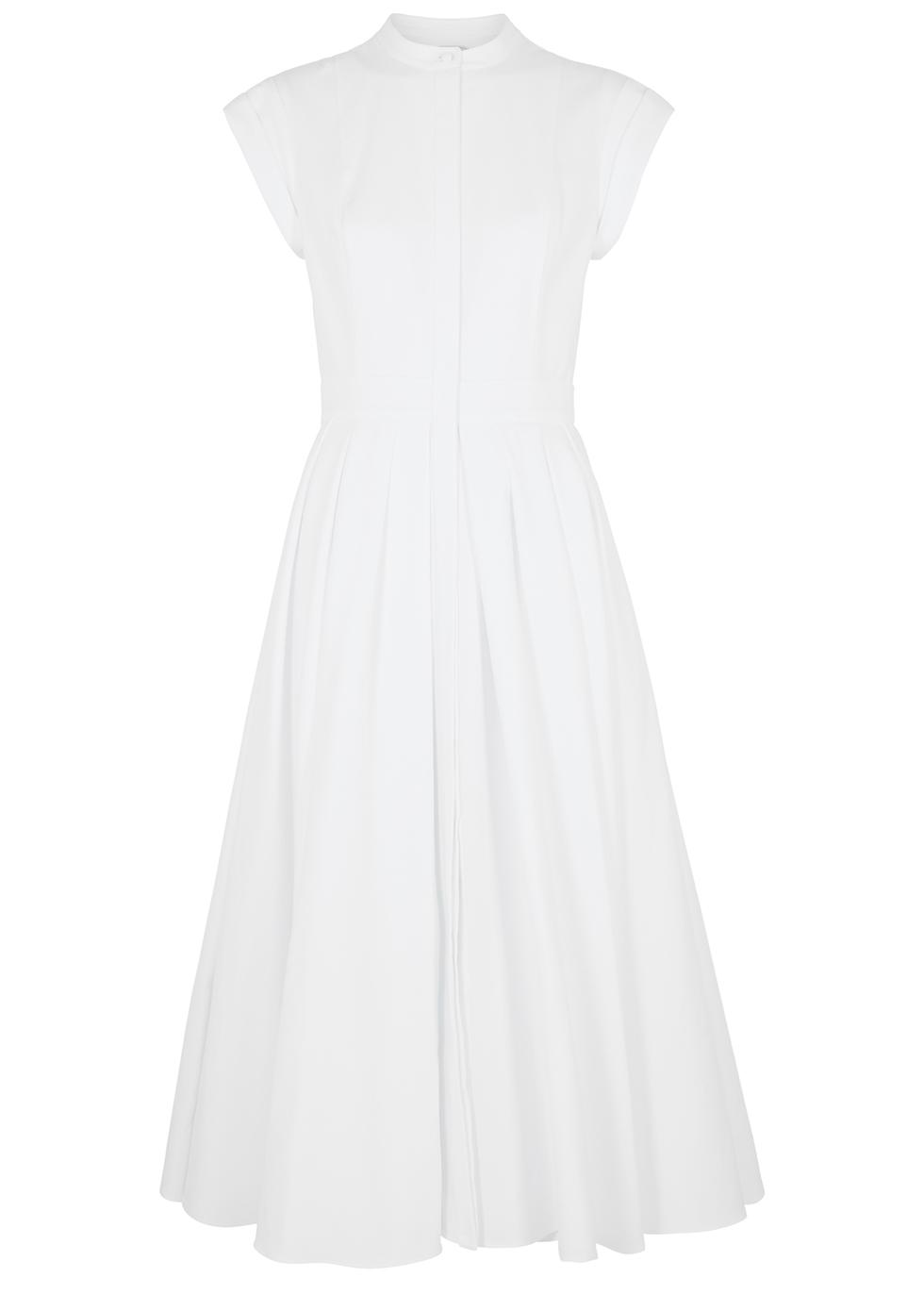 Alexander McQueen White piqué cotton
