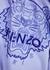 Lilac tiger-embroidered cotton sweatshirt - Kenzo