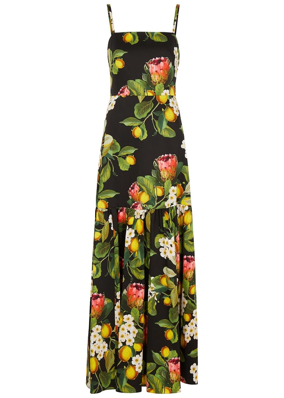 Cordelia floral-print cotton maxi dress