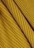 Mustard ribbed merino wool jumper - MARQUES' ALMEIDA