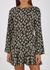 Valentina floral-print silk mini dress - RIXO