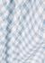 Steph blue checked midi dress - RIXO