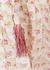 Floral-print slubbed cotton midi dress - byTiMo