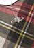 Derby tartan-print faux leather cross-body bag - Vivienne Westwood