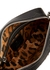 Johanna black leather cross-body bag - Vivienne Westwood