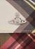 Derby tartan-print faux leather shoulder bag - Vivienne Westwood