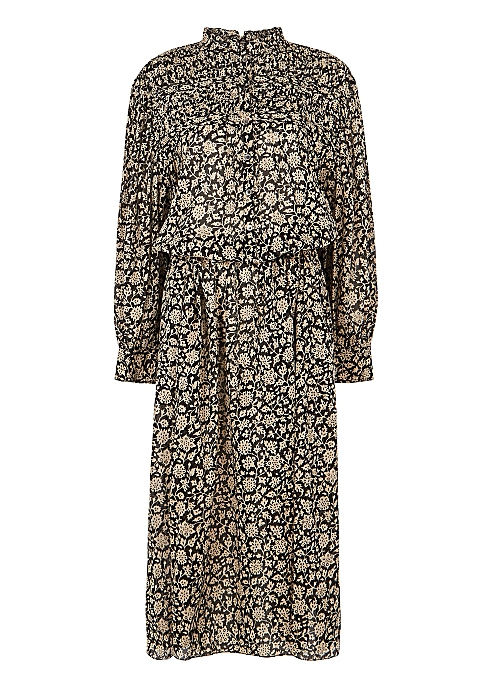 Perkins floral-print cotton midi dress - Isabel Marant Étoile