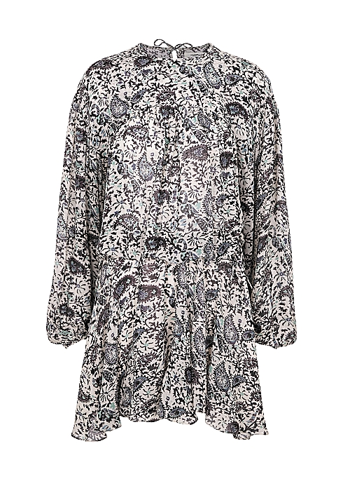 Nimazu printed georgette mini dress - Isabel Marant Étoile