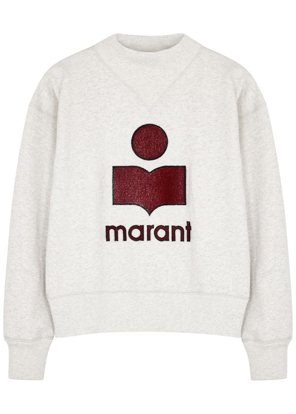 Moby logo jersey sweatshirt