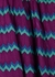 Zigzag fine-knit midi dress - M Missoni