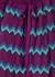 Zigzag fine-knit mini dress - M Missoni