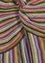 Striped metallic-weave maxi dress - M Missoni