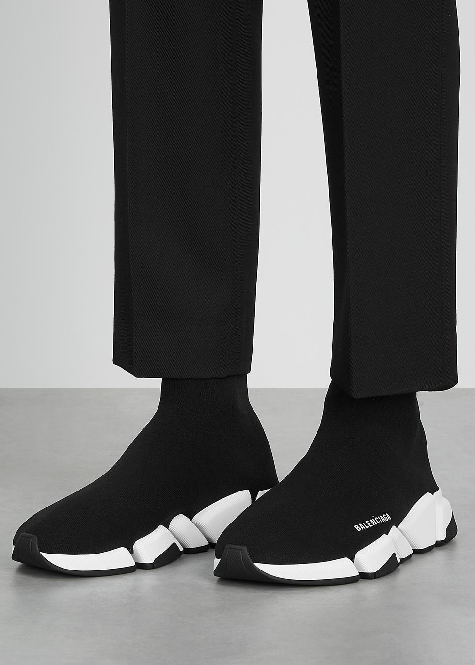 Balenciaga Speed 2.0 black stretch-knit