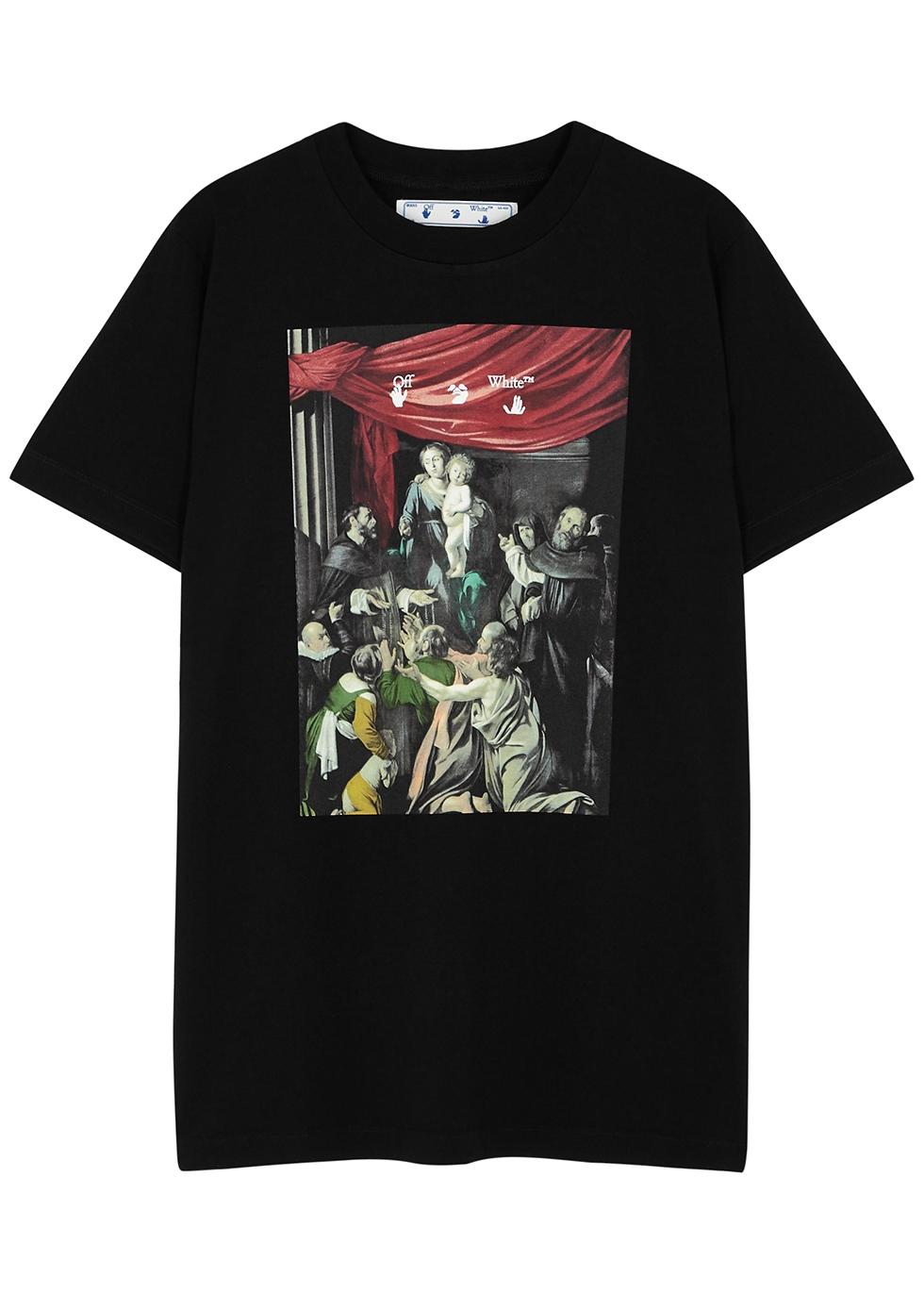 Caravaggio printed cotton T-shirt