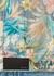 Blue floral-print denim jacket - Amiri