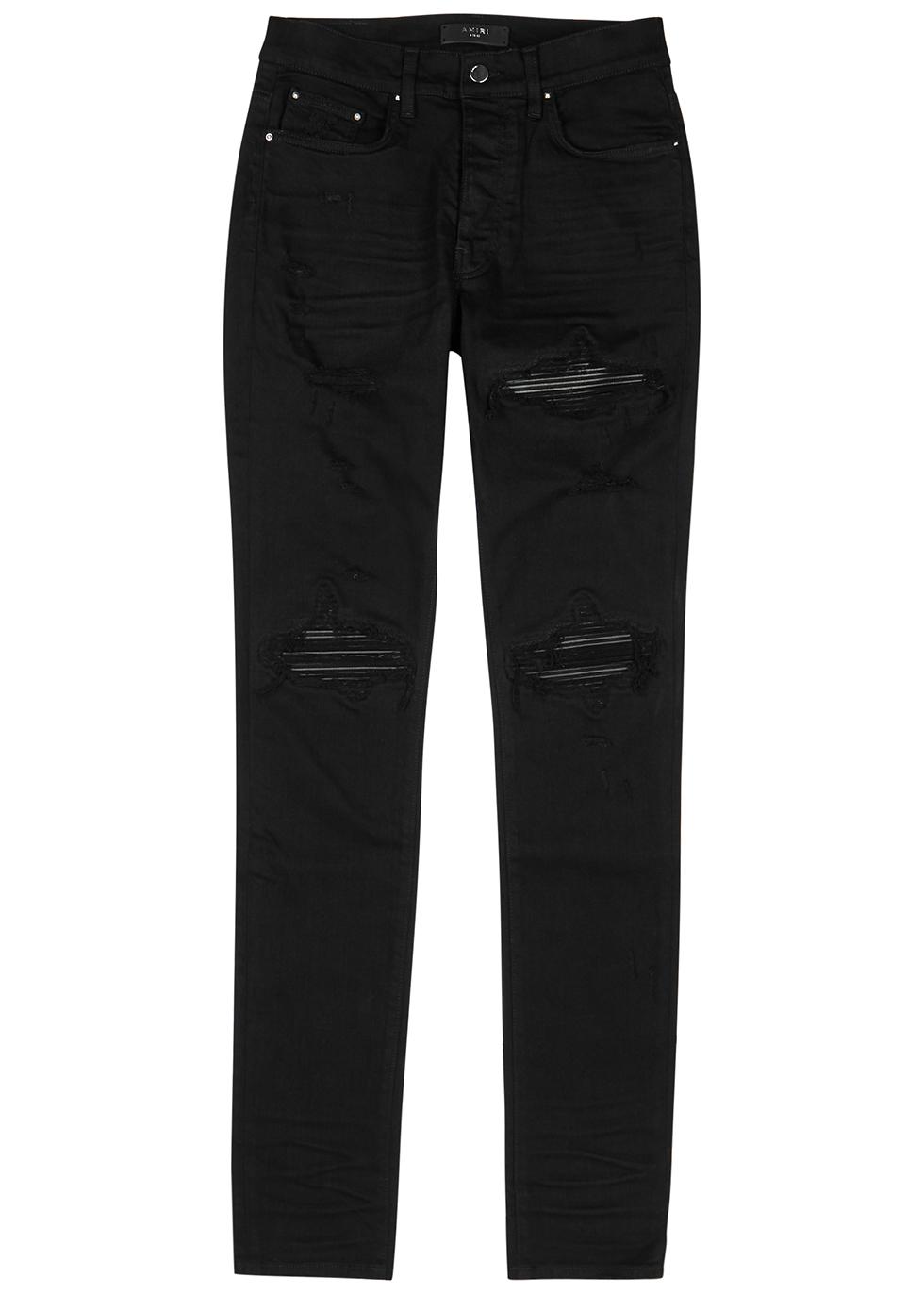 MX1 black skinny jeans