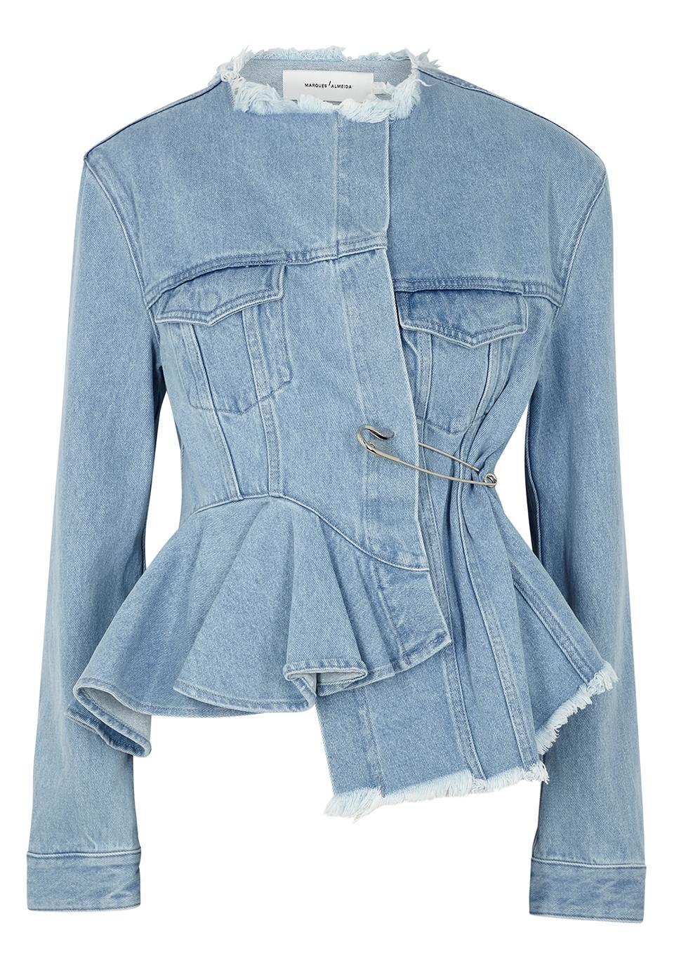 designer denim jacket womens