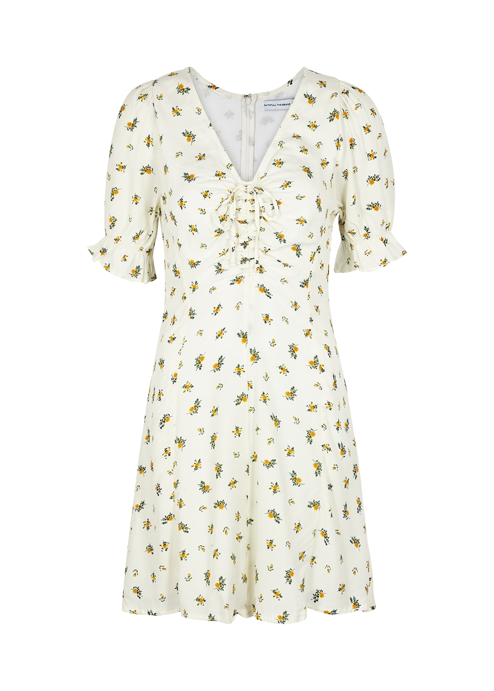 Palma floral-print mini dress