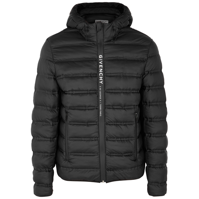 Givenchy Over coats BLACK QUILTED SHELL JACKET