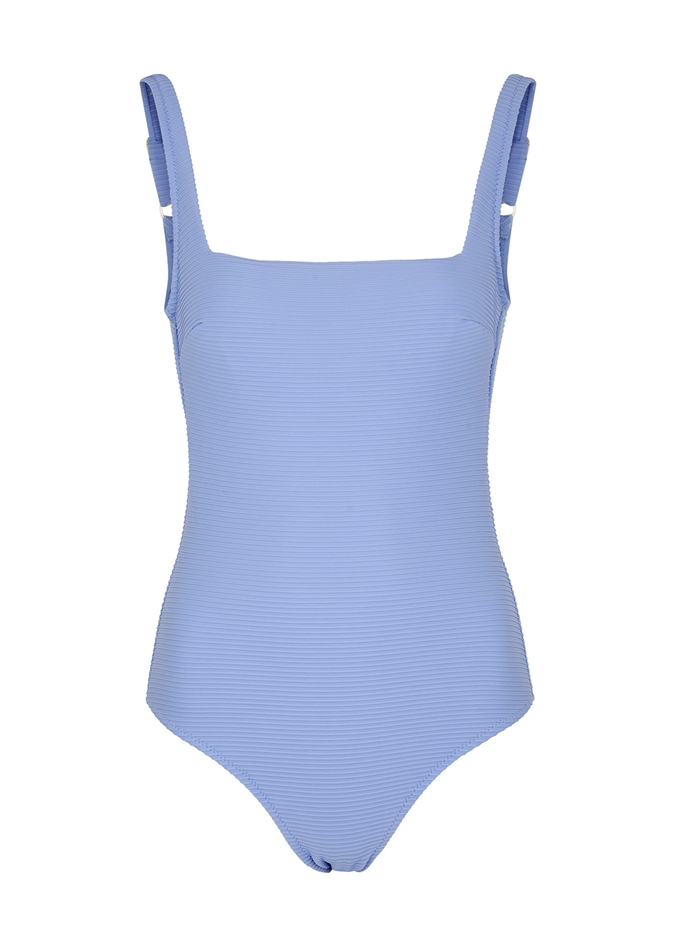 Bora Bora light blue lace-up swimsuit