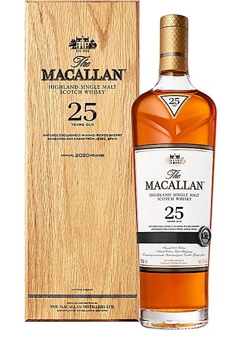 25 Year Old Sherry Oak Single Malt Scotch Whisky 2020 - Macallan