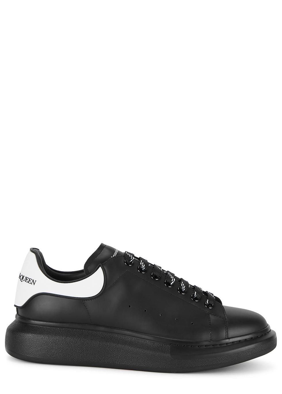 alexander mcqueen trainers black