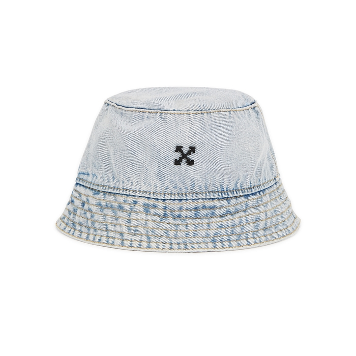 Off-White LIGHT BLUE DENIM BUCKET HAT