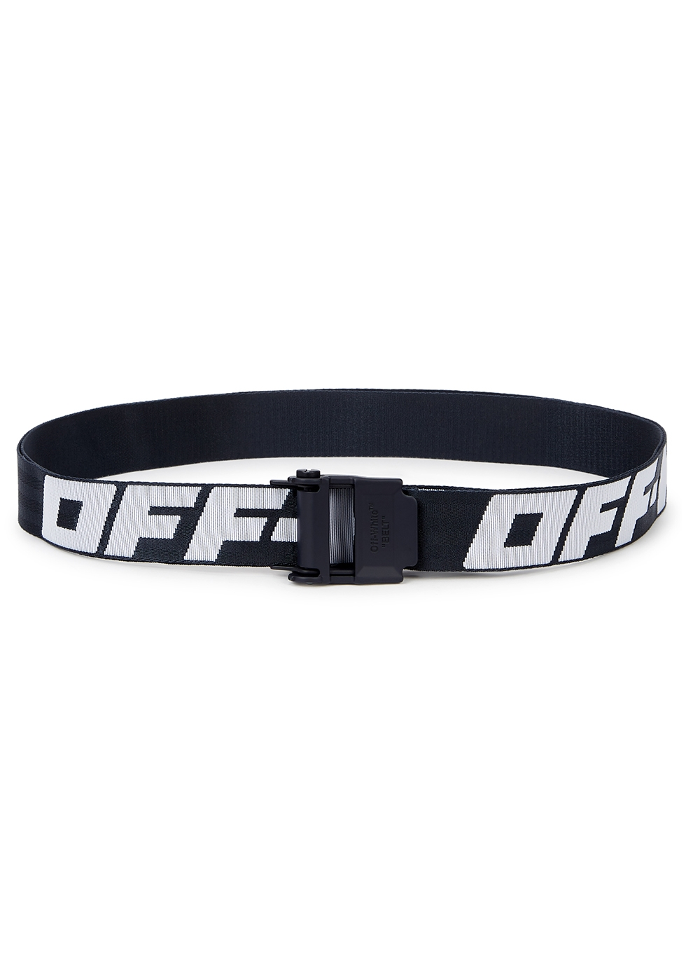 Off White Industrial 2.0 logo jacquard