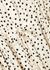 Monique ivory polka-dot shirt dress - Samsøe Samsøe