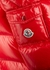 Ecrins red quilted shell jacket - Moncler