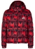 Navy logo-print quilted shell jacket - Moncler