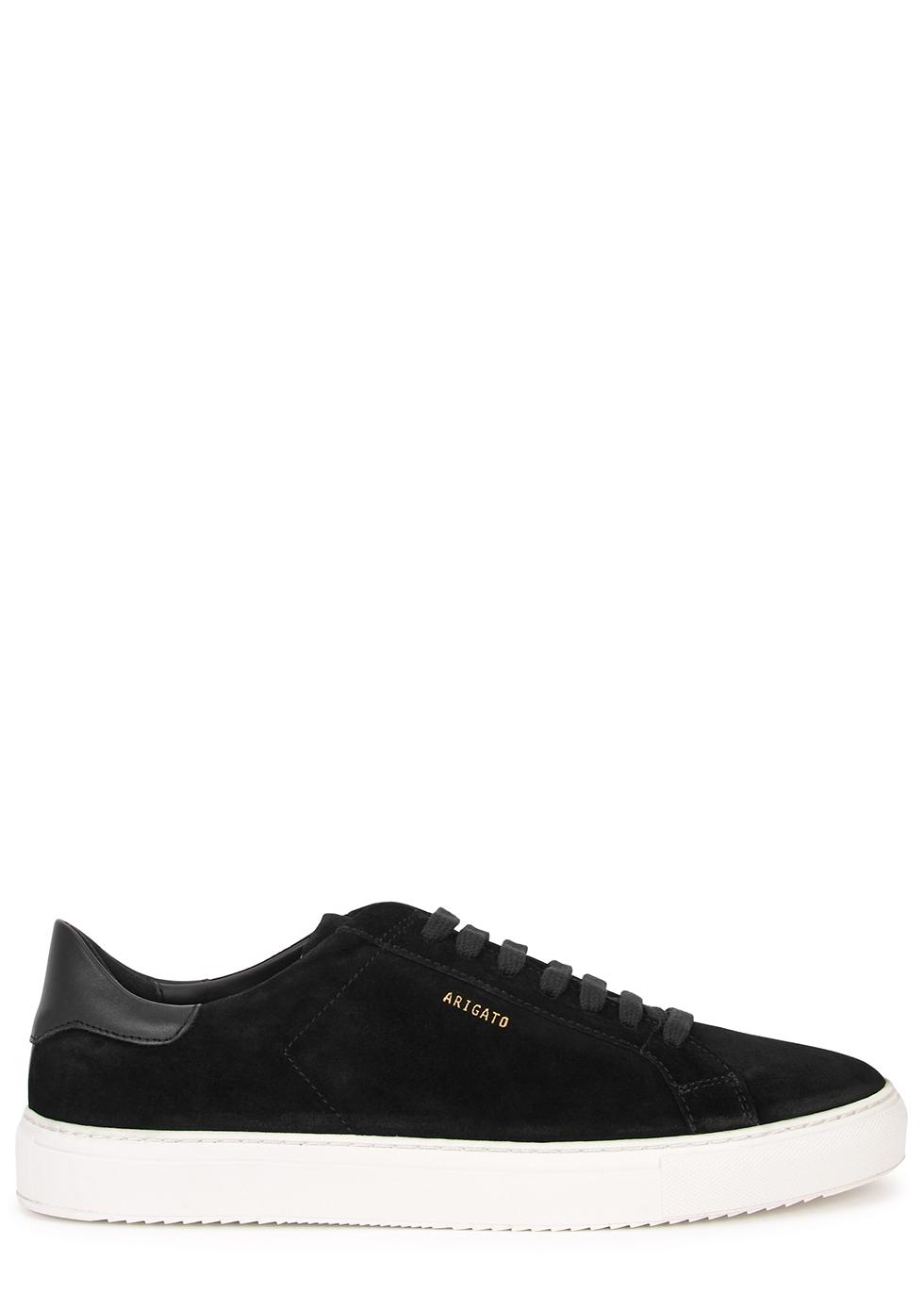 Clean 90 black suede sneakers