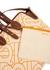 Medium monogrammed canvas tote - Burberry